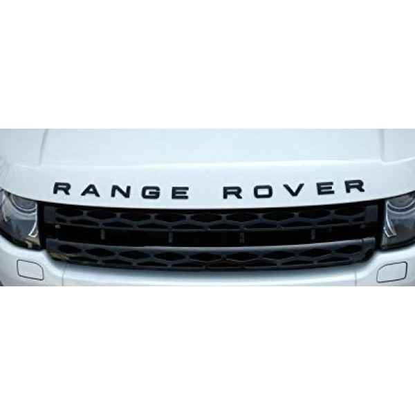 """FRONT """"RANGE ROVER"""" LETTERS LOGO STICKERS"""