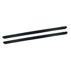 3MM BLACK PLAIN PLATE SILL PROTECTOR SUITABLE FOR 3mm DEFENDER 90