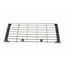 FRONT GRILLE GLOSS BLACK SMOOTH SUITABLE FOR ALL DEFENDER VEHICLES