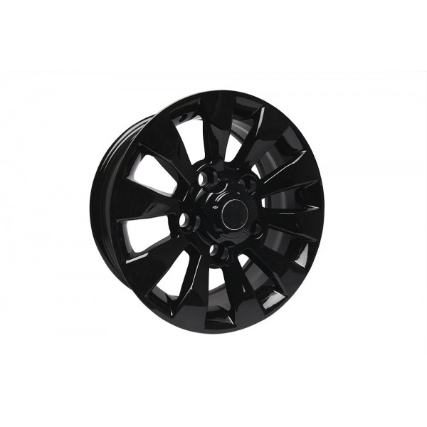 18'' BLACK STYLE SAWTOOTH ALLOY WHEEL SUITABLE FOR DEFENDER, DISCOVERY 1 & RANGE ROVER CLASSIC VEHICLES